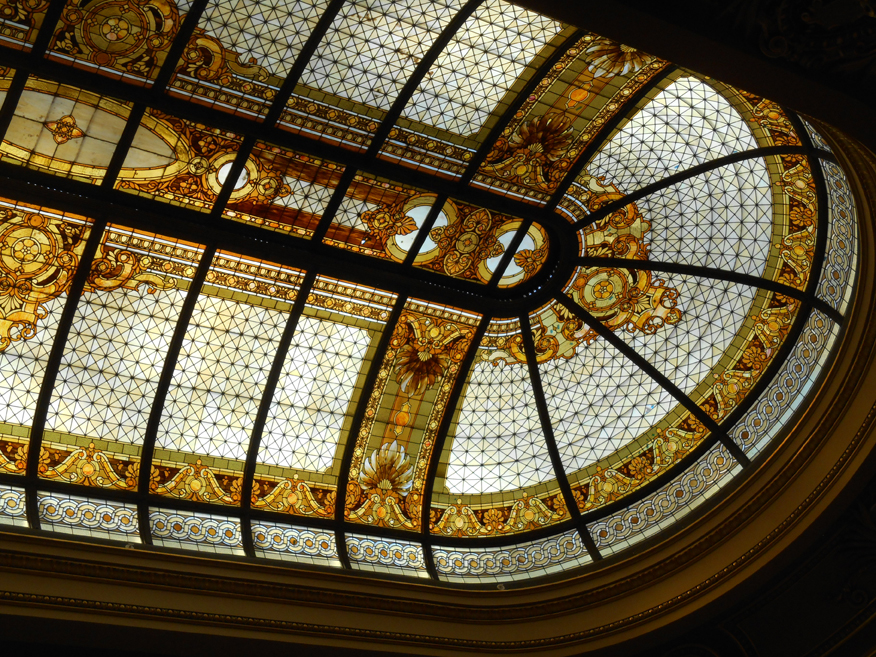 The Hibernia Bank - Oval Skylight
